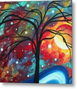 Envision The Beauty By Madart Metal Print by Megan Duncanson