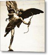 Eros Statue Metal Print