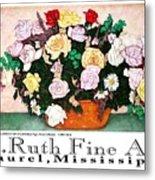 E.ruth Fine Art Poster 2 Metal Print