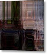 Escaping Dead End Situation Metal Print