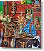 Espiritualidad Africana Metal Print