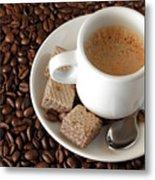 Espresso Coffee Metal Print by Carlos Caetano