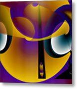 Eternity Clock Metal Print
