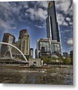 Eureka Tower-view From Cityside Metal Print