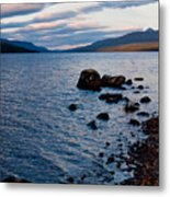 Evening On Loch Rannoch Metal Print