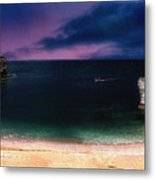 Evening On The Headland  Metal Print