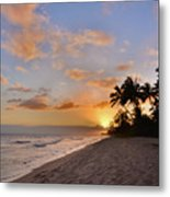 Ewa Beach Sunset 2 - Oahu Hawaii Metal Print