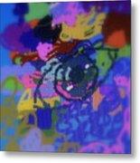 Eye Metal Print by Cybele Chaves