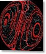 Eyeball And Dimensions Metal Print