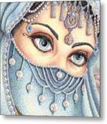 Eyes Like Water Metal Print