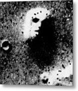 Face On Mars Metal Print