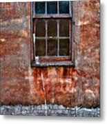 Faded Over Time Metal Print