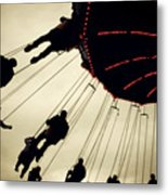 Fair Flying Metal Print