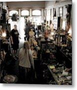 Fair Oaks Antique Shop Metal Print