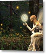 Fairy Light Metal Print