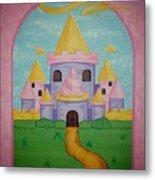 Fairytale Castle Metal Print