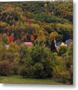 Fall In A Small Town Metal Print