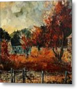 Fall In Vivy Metal Print