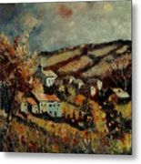 Fall Landscape 670110 Metal Print