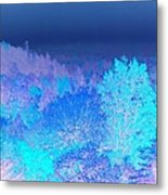 Fall Landscape, New Hampshire, Usa Metal Print