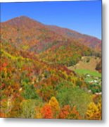 Fall Mountains  Metal Print