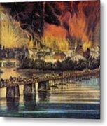 Fall Of Richmond, 1865 Metal Print