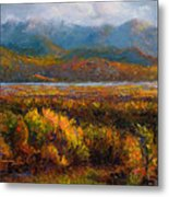Fall Metal Print by Talya Johnson