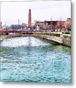 Fallswalk And Shot Tower Metal Print