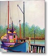 Fancy Fleet Metal Print