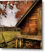 Farm - Barn - Shed Out Back Metal Print