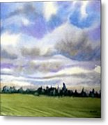 Farm  Field P.e.i. Metal Print
