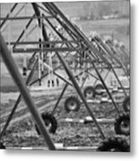 Farm Irrigation Metal Print