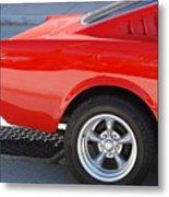 Fastback Mustang Metal Print