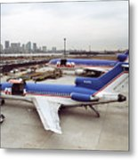 Fedex Ramp Boston 1985 Metal Print