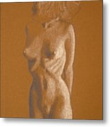 Female Nude Six Metal Print
