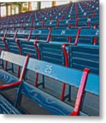 Fenway Bleachers Metal Print