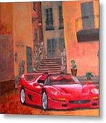 Ferrari F50 Metal Print