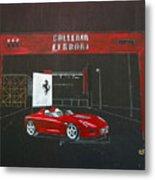 Ferrari Pininfarina Rossa Concept Metal Print