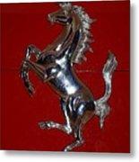 Ferrari Stallion Metal Print