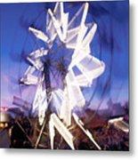 Ferris Wheel At Dusk-2 Metal Print