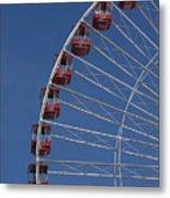 Ferris Wheel II Metal Print