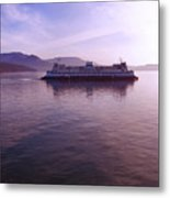 Ferry Ride Through The San Juans Metal Print