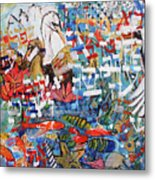 Fifth Day Of Creation 201764 Metal Print