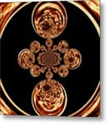 Fire Design Metal Print