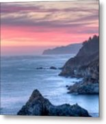 Fire Sky Metal Print by Michael Breshears
