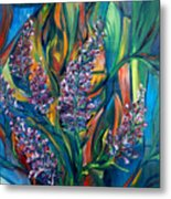 Fireweed Bouquet Metal Print