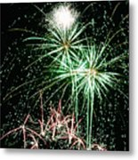 Fireworks 4 Metal Print by Michael Peychich