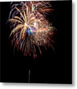 Fireworks IIi Metal Print by Christopher Holmes