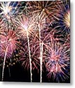Fireworks Spectacular Metal Print by Ricky Barnard