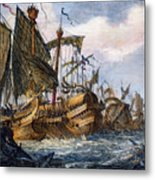 First Punic War Battle Metal Print